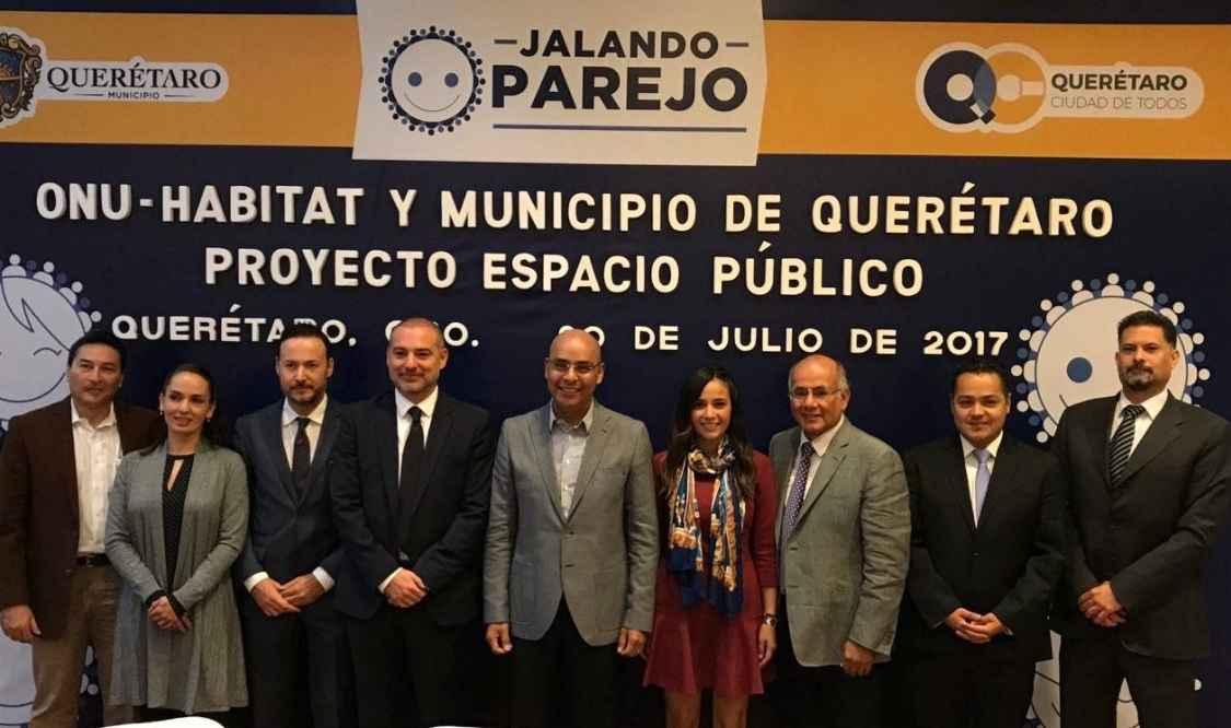 Querétaro colabora con ONU-Hábitat en proyecto de Zona 30