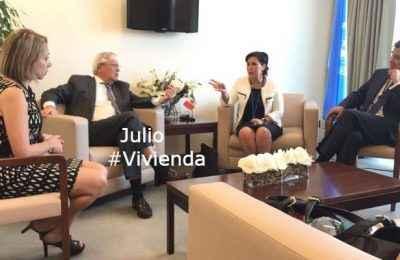 Lo Mejor del Año: Designa ONU a México cofacilitador de conferencia Hábitat III