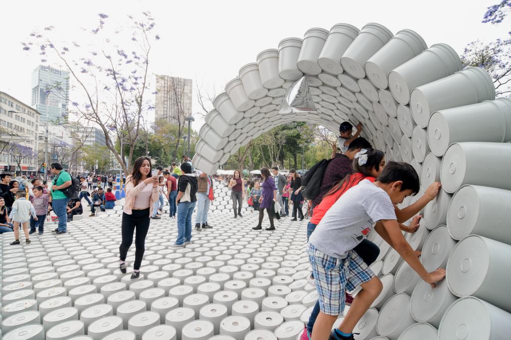 Arquine convoca a participar en el diseño del Pabellón Mextrópoli 2018