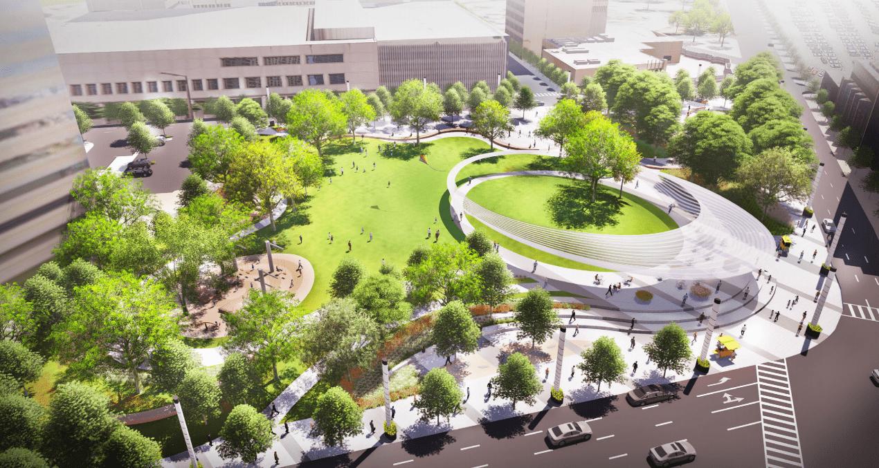 Aprueban construcción de parque urbano en Dallas