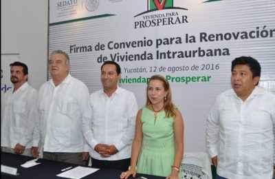 Conavi presenta proyecto de renovación de vivienda intraurbana