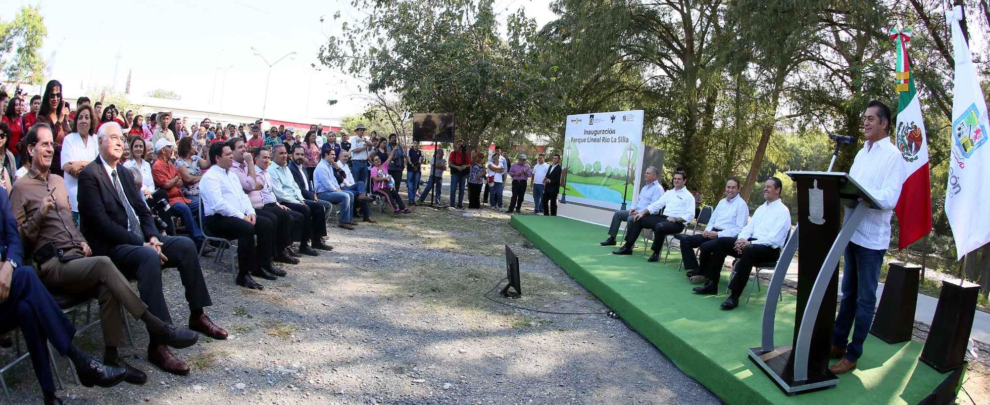 Inauguran Parque Lineal en Monterrey