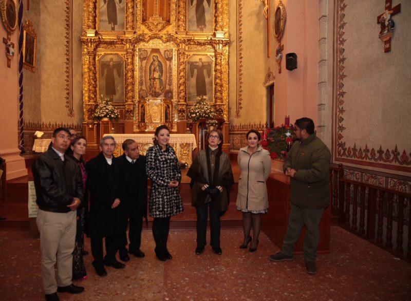 Terminó restauración de la Parroquia de la Santa Cruz