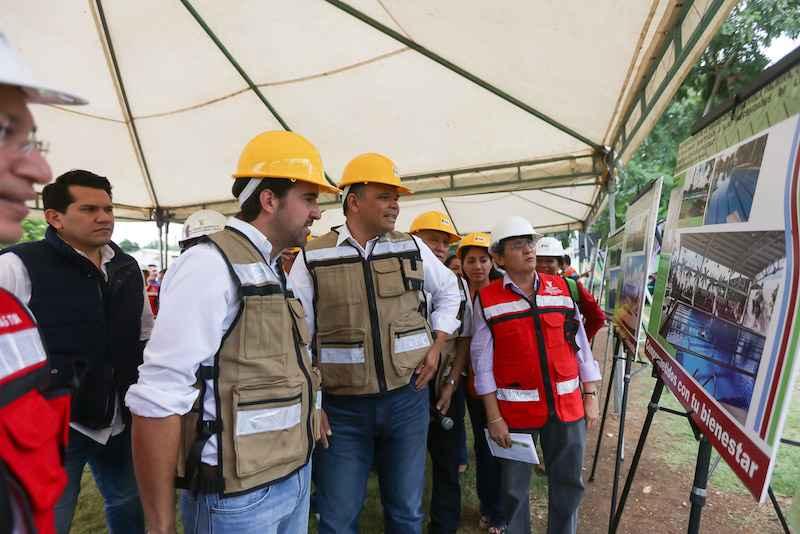 Inicia construcción del Paseo henequenes