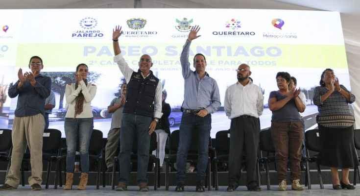 Invertirán 180 mdp para mejorar movilidad en Querétaro