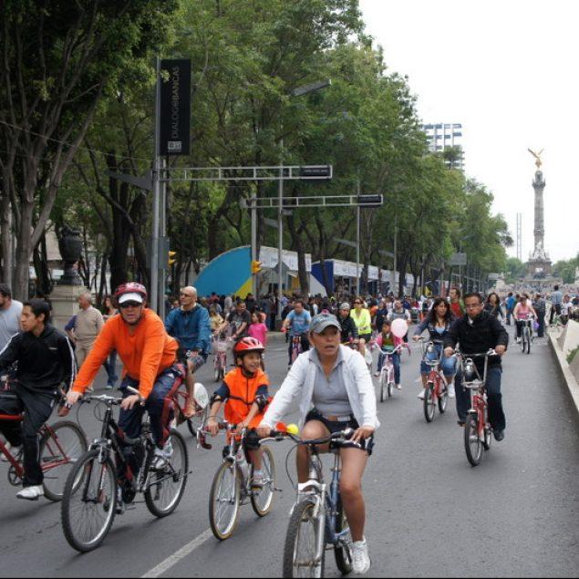 Ampliaran ruta del Paseo Ciclista Dominical en Reforma