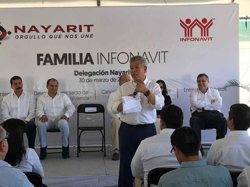En 4 años, Infonavit ha generado derrama de 5 mmdp en Nayarit