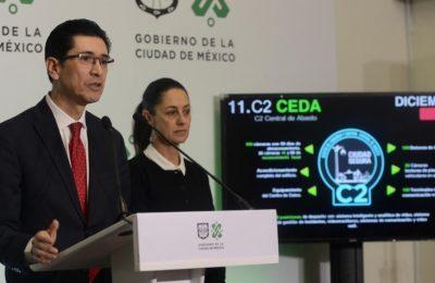 GCDMX invertirá 1,195 millones de pesos en proyectos para el C5
