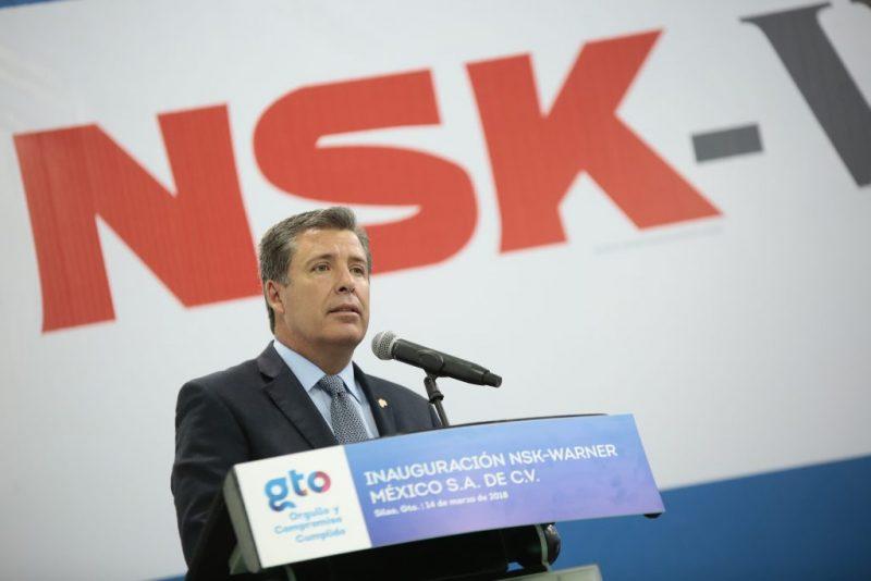 Inauguran Planta NSK Warner en Guanajuato
