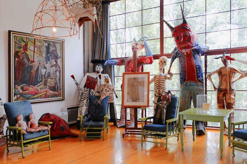 Por concluir la exposición 30 años. Museo Casa Estudio Diego Rivera y Frida Kahlo