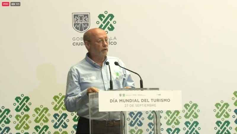 Presenta GCDMX programa para reactivar el turismo en la ciudad