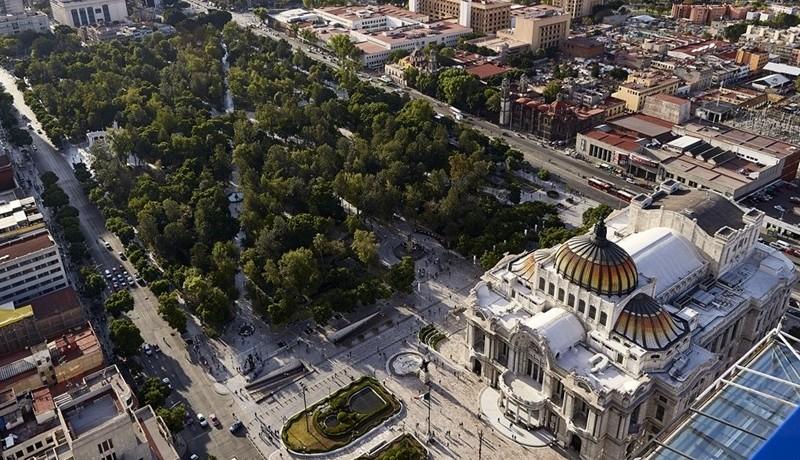 Presenta INBAL recorrido aéreo entre Bellas Artes y MMDR