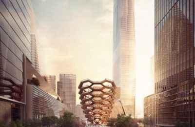 Presentan diseño de Vessel, un punto de referencia en el nuevo corazón de NY