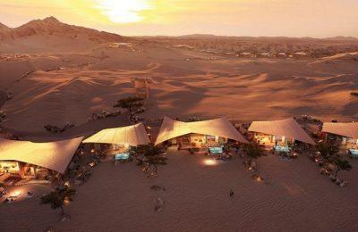 Presentan diseño de Southern Dunes, un hotel en medio del desierto