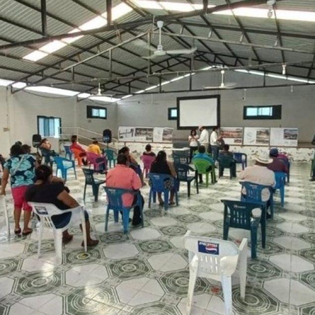 Presentan diseño de viviendas a familias relocalizadas por Tren Maya