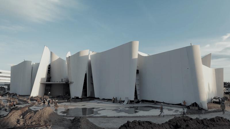 Presentan documental sobre la construcción del Museo Internacional del Barroco