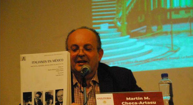 Presentan libro que destaca obras de artistas y arquitectos italianos
