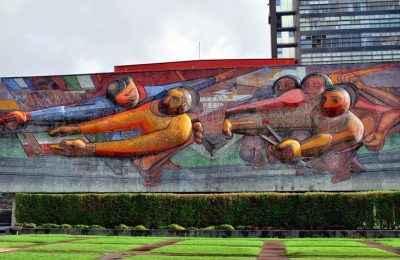 Presentan proyecto para visualizar murales de CU de forma virtual