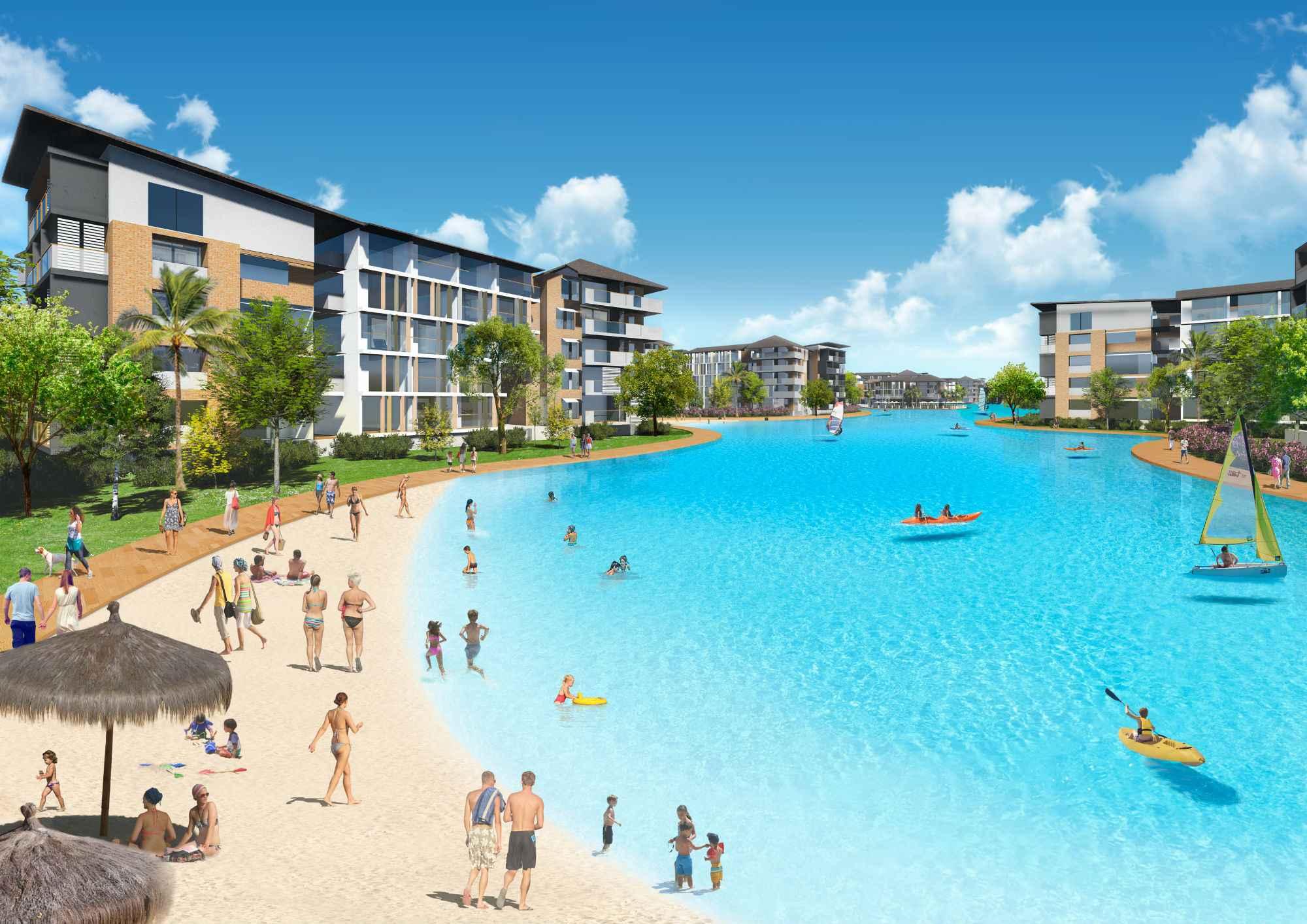 Crystal Lagoons inaugurará su primera laguna en Australia