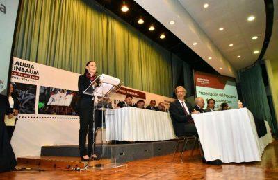 Presenta nuevo gobierno plan de reconstrucción para CDMX