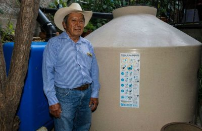 Programa Cosecha Lluvia llega a 10,000 viviendas en la CDMX