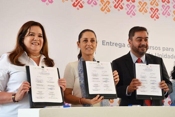 Prosoc y Azcapotzalco firman convenio de colaboración a favor de U.H.