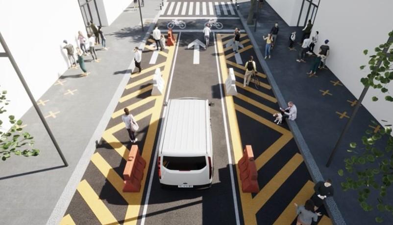 Publica Semovi guía para espacios peatonales emergentes en CDMX