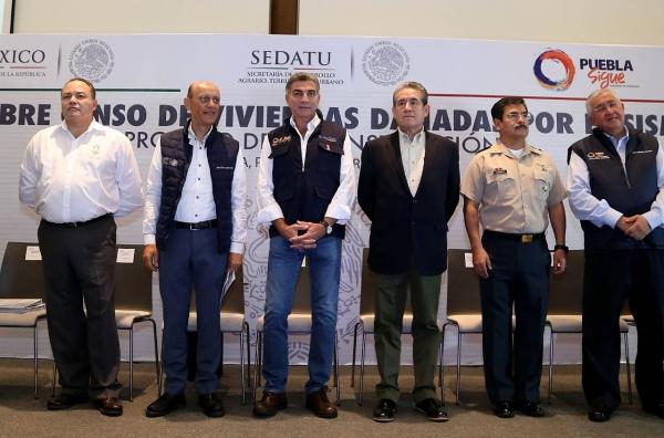 Puebla destinará 1,254 mdp para reconstruir viviendas
