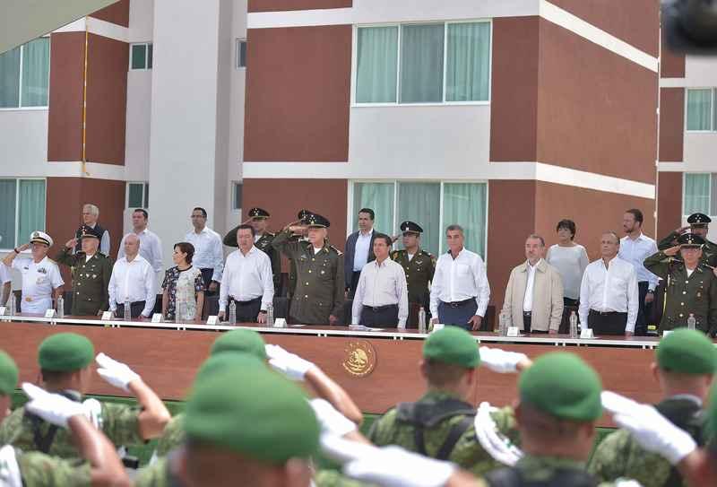 Inauguran Unidad Militar en Puebla