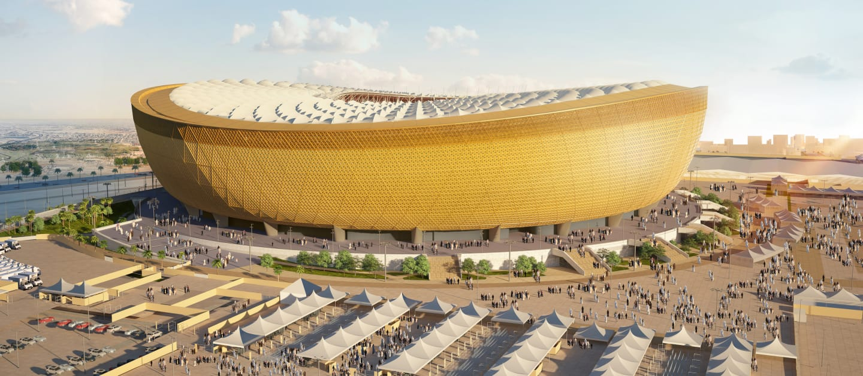 Revelan espectacular diseño del Estadio de Lusail para Qatar 2022
