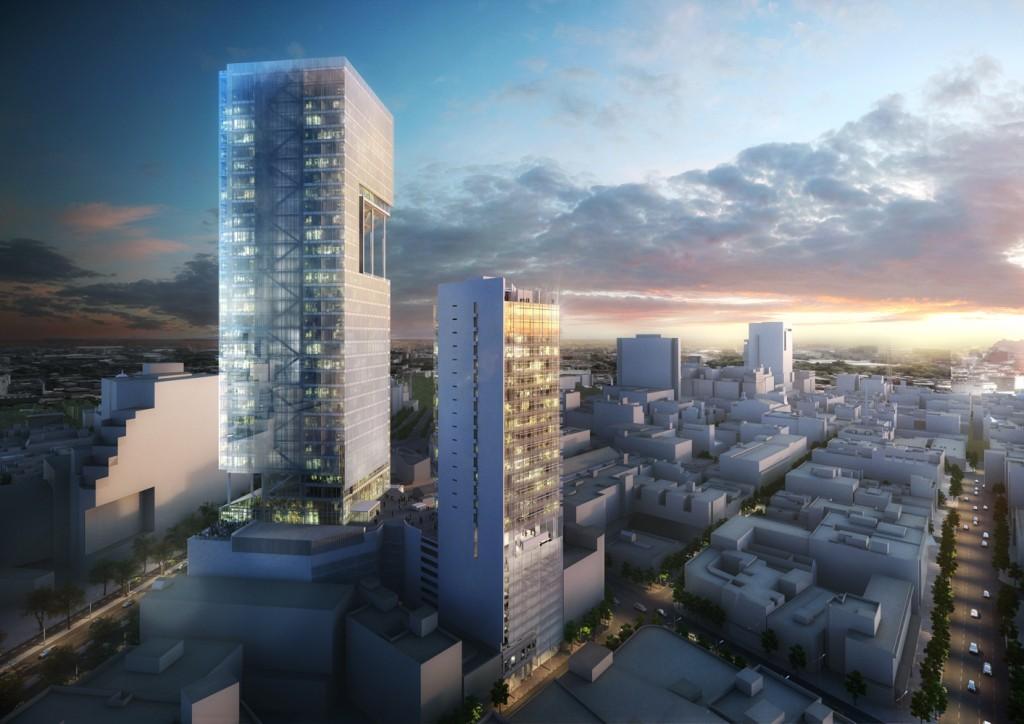 Estos son las cuatro torres que cambiarán el skyline de la CDMX