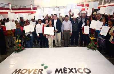 Al cierre de 2016, Sedatu entregó 1,073 Cuartos Rosas en Tlaxcala