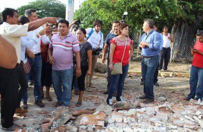 Inicia Sedatu reconstrucción de vivienda en Chiapas y Oaxaca