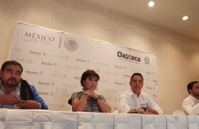 Inversión para reconstrucción de Oaxaca llega a 3,804 mdp