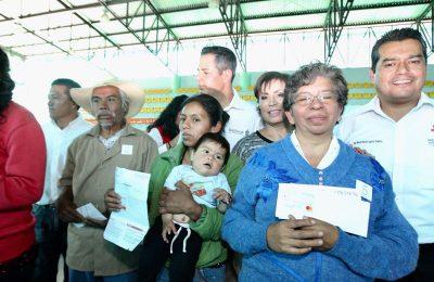 Sedatu ha repartido 61,632 apoyos para reconstruir Oaxaca