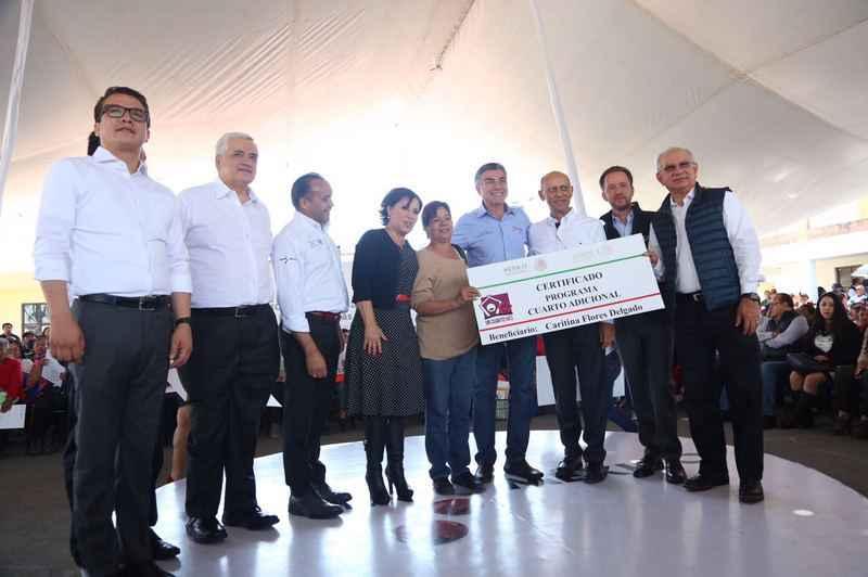 Sedatu ha entregado más de 300,00 Cuartos Rosas