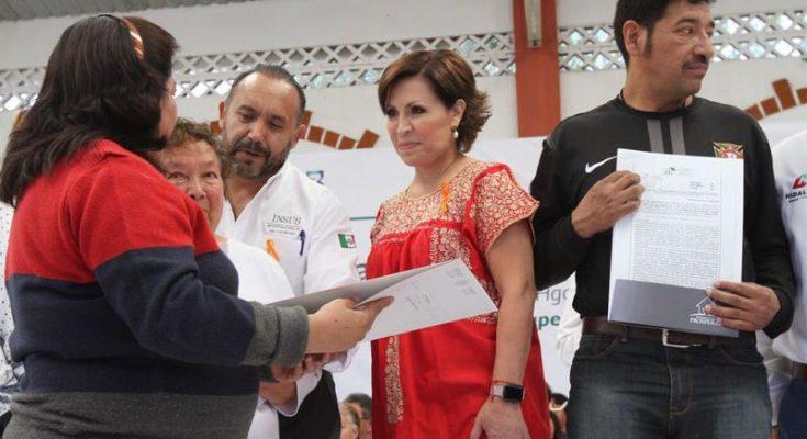 Sedatu entregó acciones de Papelito Habla en Hidalgo