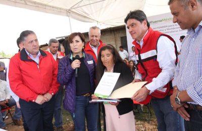 Inicia entrega de apoyos para reconstrucción en Edomex