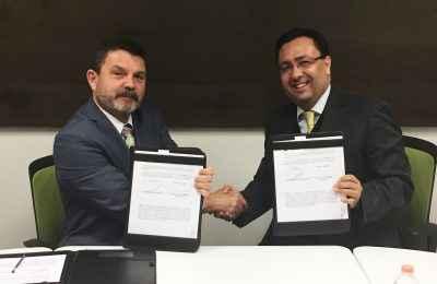 Firma RUV y AUVBM convenio de colaboración