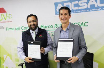 RUV y Ancsac firmaron convenio de colaboración