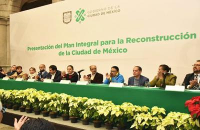 ADI firma convenio para la reconstrucción en CDMX