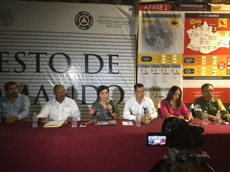 Con 97% de avance, entrega de tarjetas para reconstruir Oaxaca