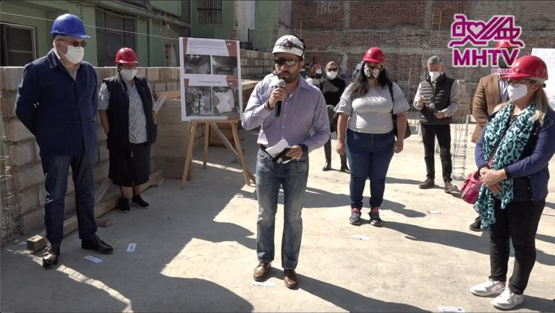 Reconstruyen socios ADI viviendas en CDMX-ADI