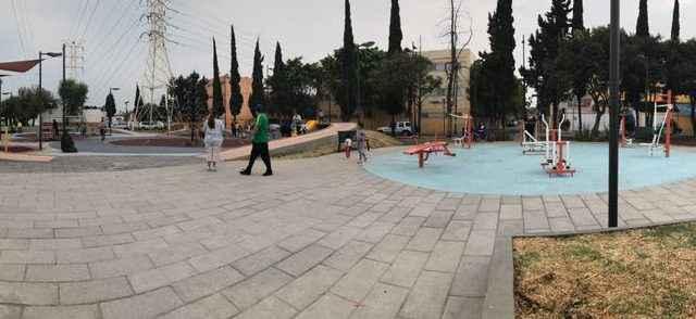 Recuperan el Parque Santiago Sur en Iztacalco