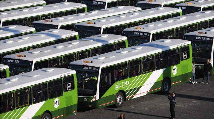Red de Transporte de Pasajeros de la CDMX adquiere 118 autobuses