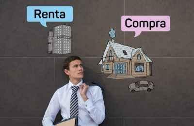 ¿Rentar o comprar una vivienda a través de créditos hipotecarios?