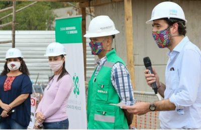 Reporta Sobse avance del 59% en construcción de Línea 2 del Cablebús