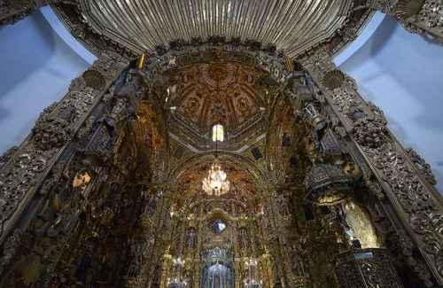 Retablo. Basílica de Ocotlán