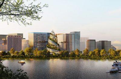 Revela Amazon diseño de The Helix, su nueva sede sustentable