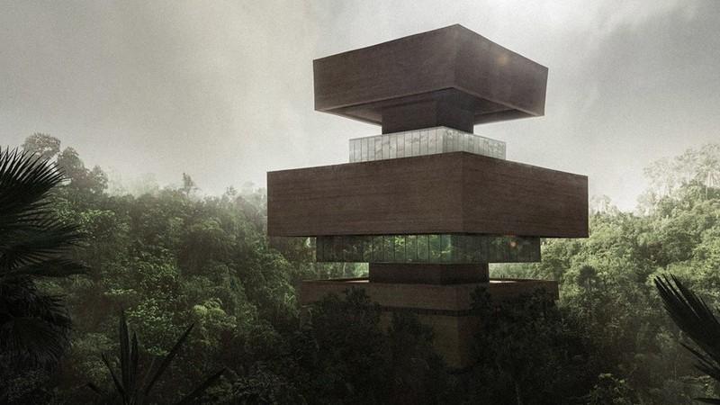 Revelan diseño de Xinatli, un museo en medio de la selva mexicana
